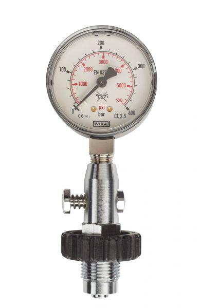 BTS Flaschenprüfmanometer bis 300 Bar