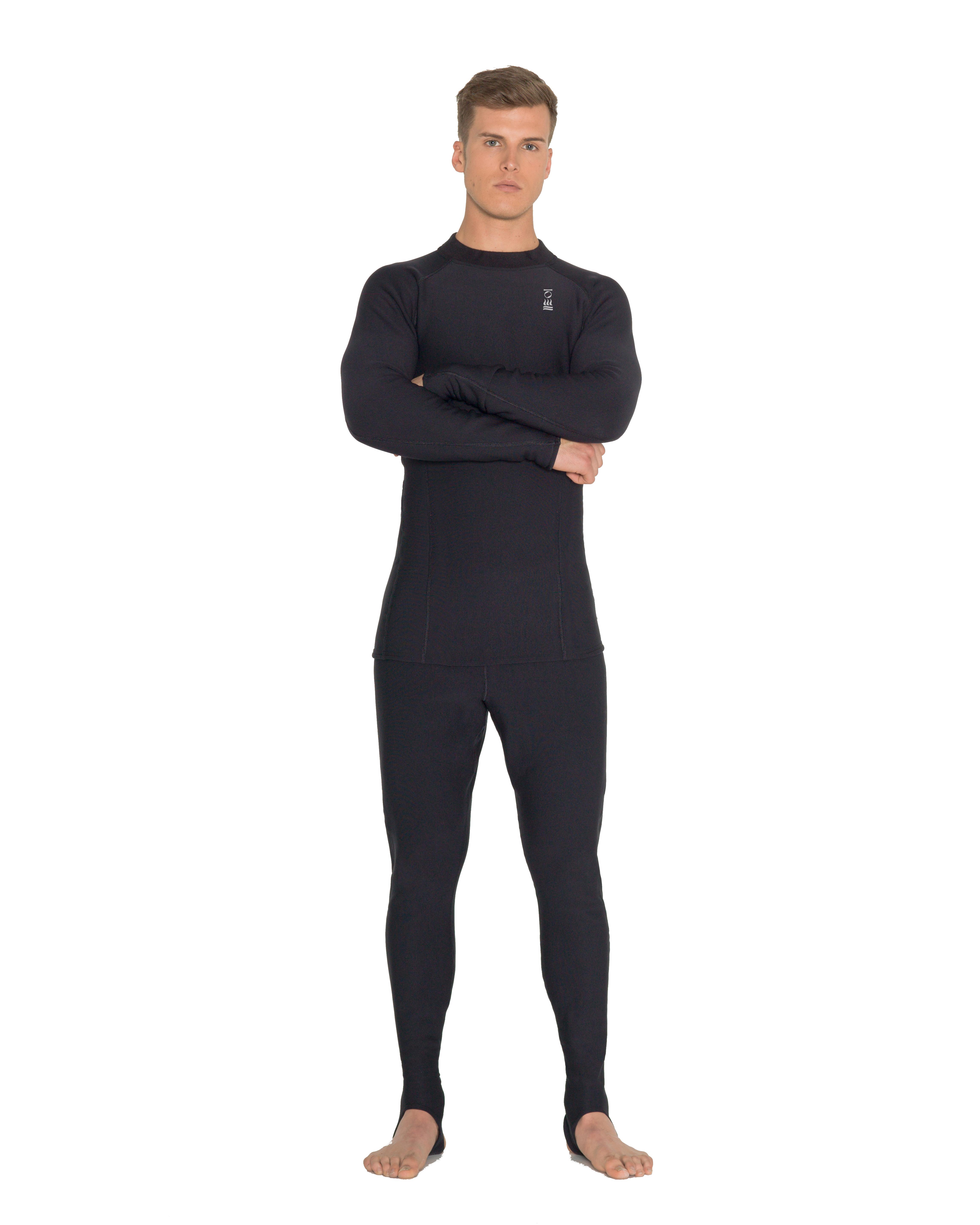 Xerotherm 4er-Set : Top, Long Sleeve, Leggings und Socken (Men Gr. S)