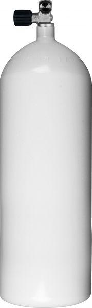 Stahlflasche 12l kurz / Monoventil