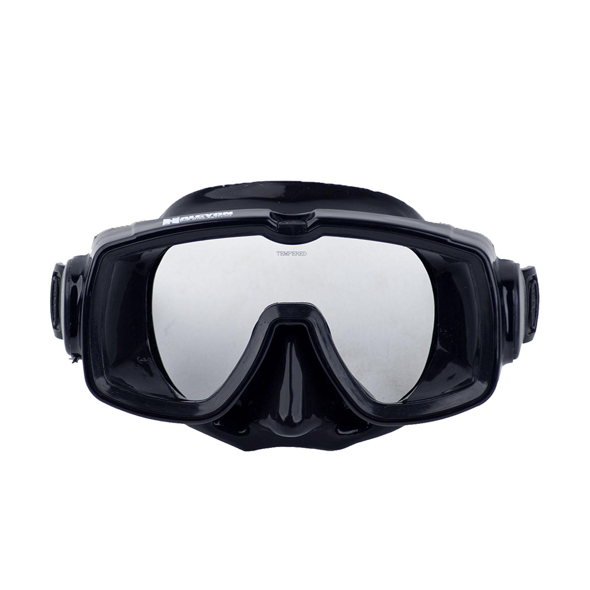 Halcyon Einglasmaske mit schwarzem Maskenkörper