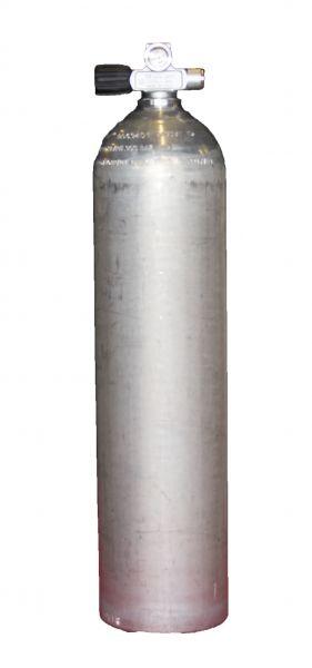 BTS Aluflasche 80cft mit Monoventil links ausbaufähig