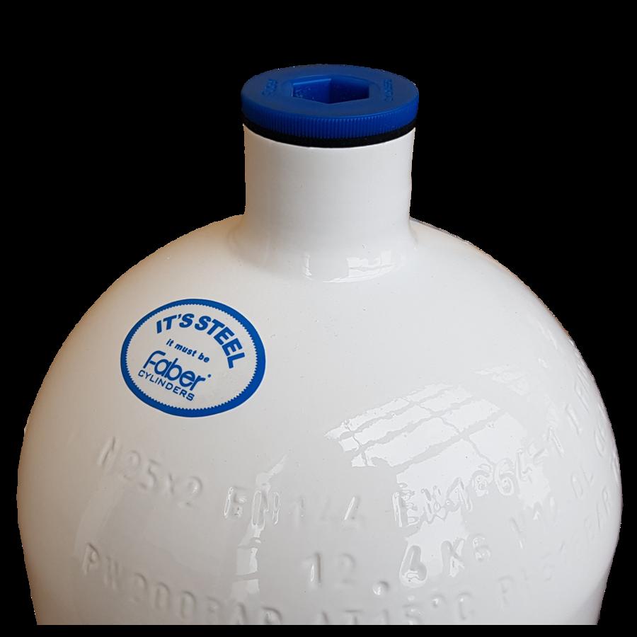 Faber Stahlflasche leicht 12l (Monoventil)