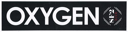 SF-2 Aufkleber / tank label OXYGEN