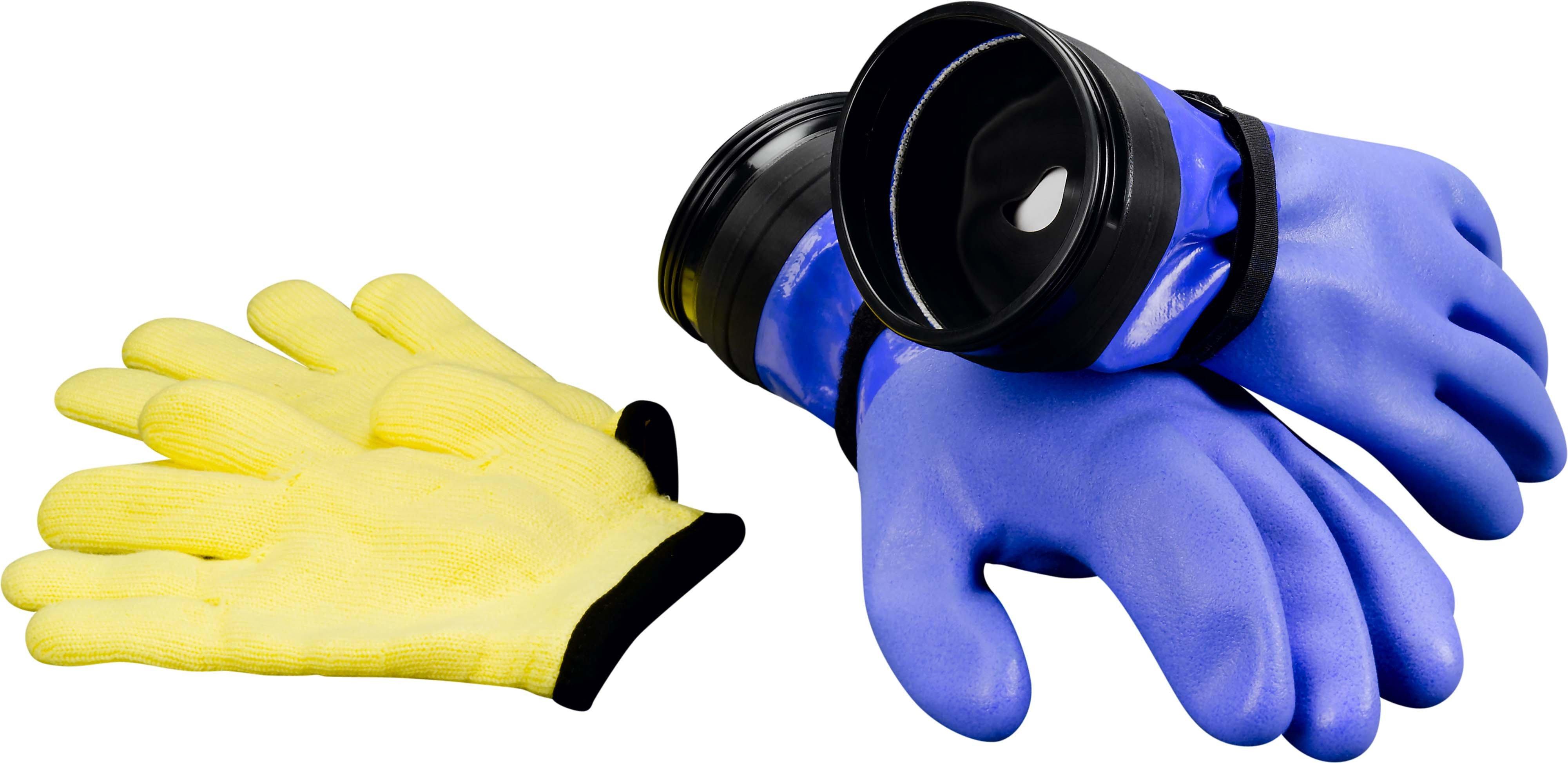 DUI ZIP Gloves Heavy-Duty mit Zusatzmanschette