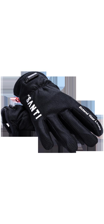 Santi Comfort Set (Handschuhe Beheizt + Drysuit Connector / Thermovalve)