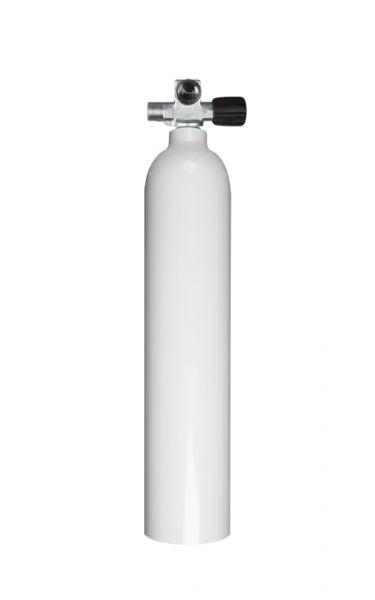 BTS Aluflasche 80cft mit Monoventil rechts ausbaufähig