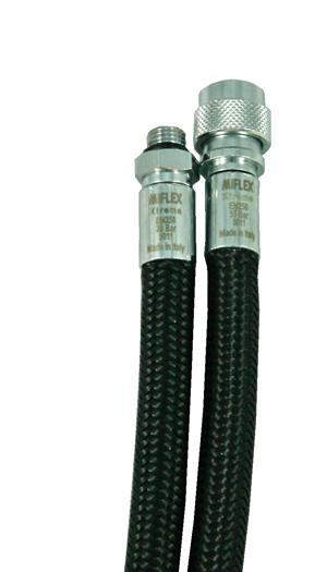 MIFLEX Xtreme Inflatorschlauch - schwarz