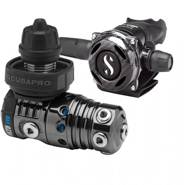 Scubapro MK25 EVO mit A700 Carbon Black Tech