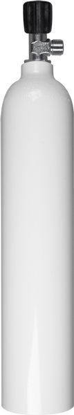 BTS Mono Aluflasche weiß 3 Liter